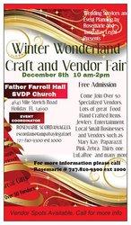 Winter Wonderland Craft/Vendor Fair